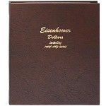 COMPLETE SET OF EISENHOWER DOLLARS IN A DELUXE DANSCO ALBUM