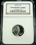 2007 S JEFFERSON NICKEL NGC PROOF 69 ULTRA CAMEO