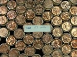 1963 P LINCOLN CENTS BU ROLL UNSEARCHED